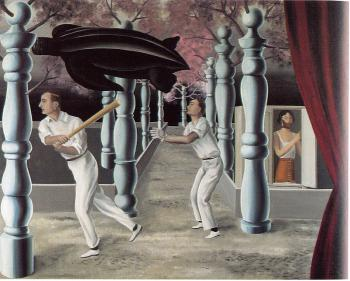 Rene Magritte : the secret player