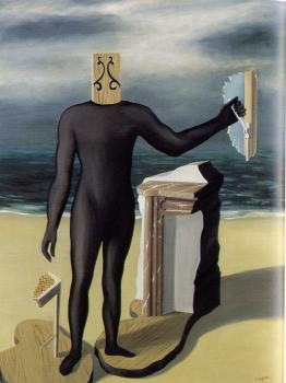 Rene Magritte : the man from the sea