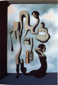 Rene Magritte : the acrobat's ideas