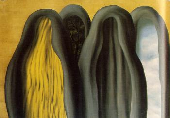 Rene Magritte : the palace of curtains