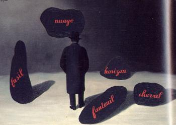 Rene Magritte : the apparition