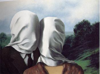 Rene Magritte : the lovers