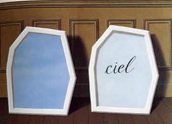 Rene Magritte : the palace of curtains III
