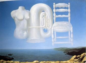 Rene Magritte : Threatening Weather