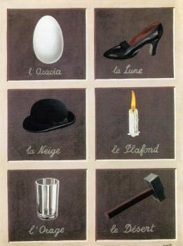 Rene Magritte : the interpretation of dreams