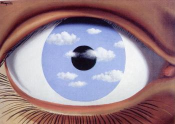 Rene Magritte : the false mirror II