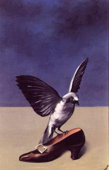 Rene Magritte : god is no saint