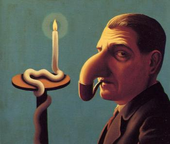 Rene Magritte : the philosopher's lamp