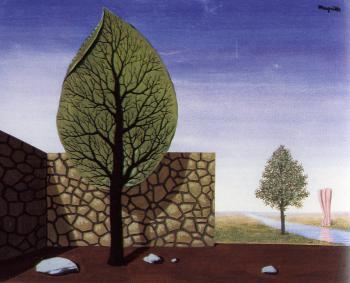 Rene Magritte : the giantess