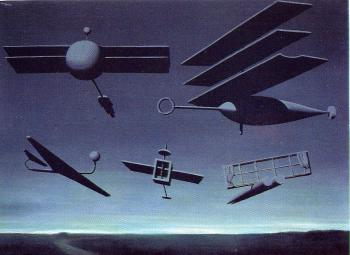 Rene Magritte : the black flag