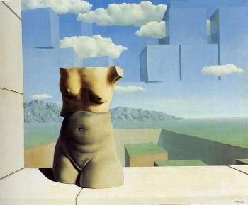 Rene Magritte : the marches of summer