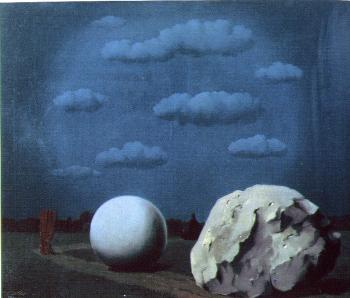 Rene Magritte : the night watch