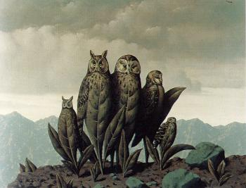 Rene Magritte : the comanions of fear