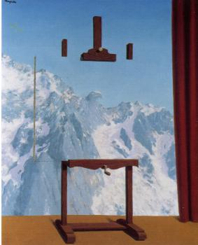 Rene Magritte : the call of the peaks