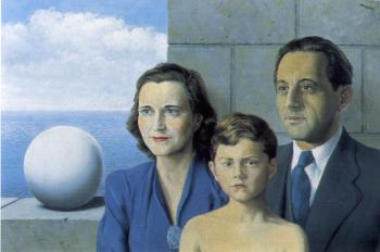 Rene Magritte : portrait of the giron family