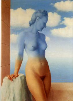 Rene Magritte : black magic II