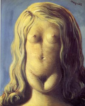 Rene Magritte : the rape II
