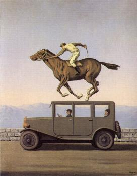 Rene Magritte : The anger of gods