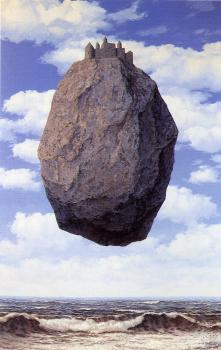 Rene Magritte : The Castle of the Pyrenees