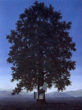 Rene Magritte : blood will tell II