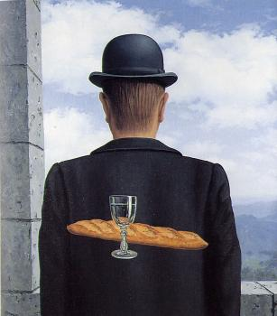 Rene Magritte : the intimate friend