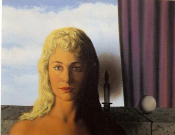 Rene Magritte : the ignorant fairy of portrait of anne-marie crowet