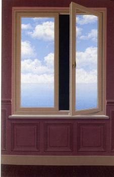 Rene Magritte : the field glass