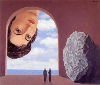 Rene Magritte : portrait of stephy langui