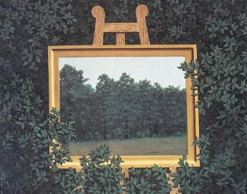 Rene Magritte : the waterfall