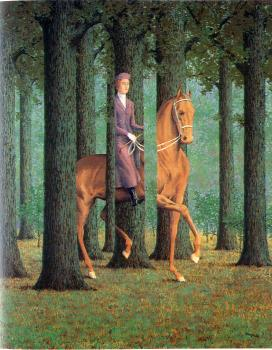 Rene Magritte : the blank signature