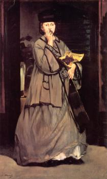 Edouard Manet : The Street Singer