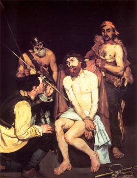 Edouard Manet : Jesus Mocked by the Soldiers