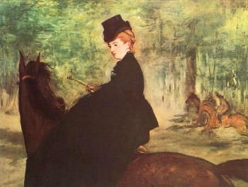 Edouard Manet : The Horsewoman