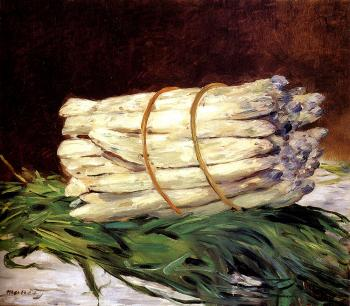 Edouard Manet : A Bunch Of Asparagus