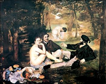 Edouard Manet : Luncheon on the Grass