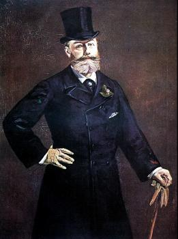 Edouard Manet : Manet paints Proust
