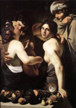 Bartolomeo Manfredi : Allegory of the Four Seasons