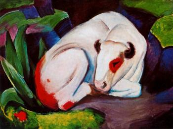 Franz Marc : The Steer