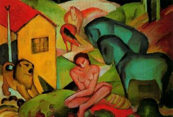 Franz Marc : The Dream