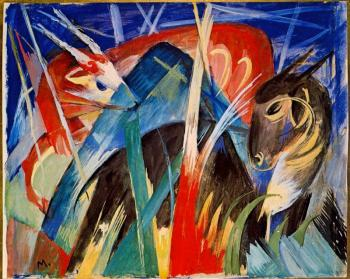 Franz Marc : Fairy Animals