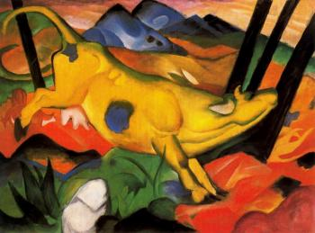 Franz Marc : The Yellow Cow