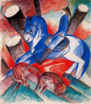 Franz Marc : St. Julian the Hospitaller