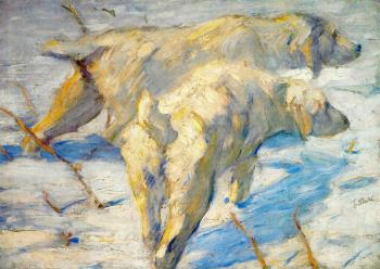 Franz Marc : Siberian Sheepdogs