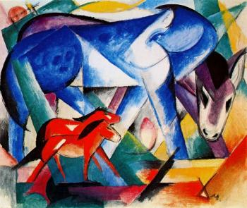 Franz Marc : The First Animals