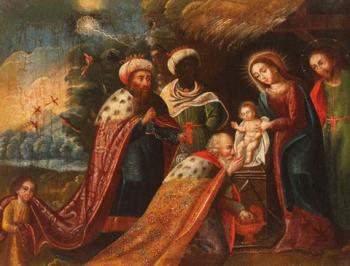 Marcos Zapata : Adoration of the Magi