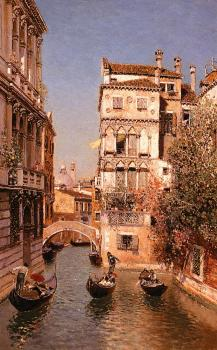 Along The Canal, Venice