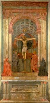 Masaccio : religion oil painting