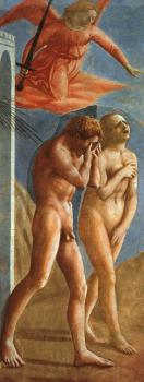 Masaccio : religion oil painting VII