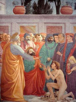 Masaccio : religion oil painting VIII