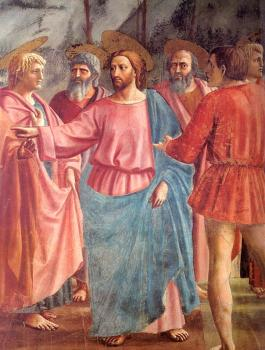 Masaccio : religion oil painting XI